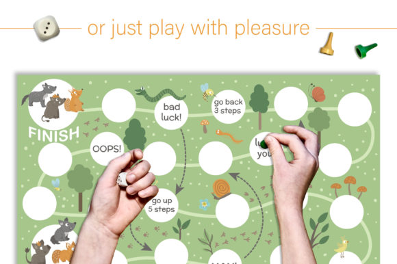 Forest Games Graphic Teaching Materials By lexiclaus - Image 12