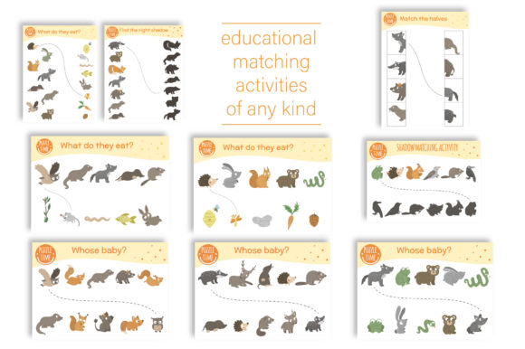 Forest Games Graphic Teaching Materials By lexiclaus - Image 3