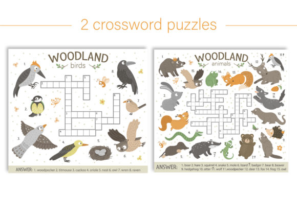Forest Games Graphic Teaching Materials By lexiclaus - Image 4