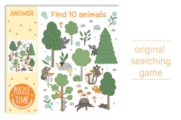 Forest Games Graphic Teaching Materials By lexiclaus - Image 6