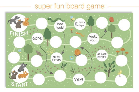 Forest Games Graphic Teaching Materials By lexiclaus - Image 7