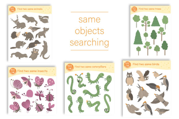 Forest Games Graphic Teaching Materials By lexiclaus - Image 8
