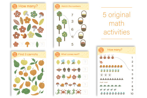 Forest Games Graphic Teaching Materials By lexiclaus - Image 9