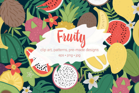 Fruity Graphic Illustrations By lexiclaus