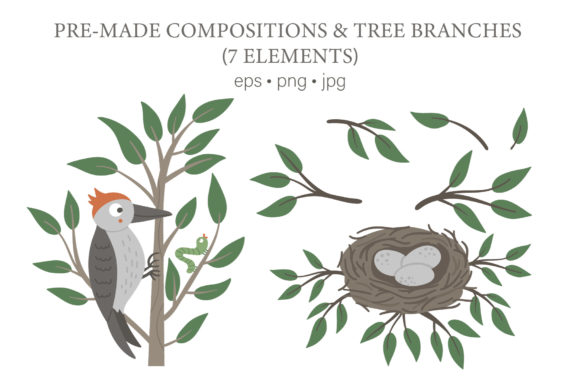 Download Free Funny Birds Graphic By Lexiclaus Creative Fabrica for Cricut Explore, Silhouette and other cutting machines.