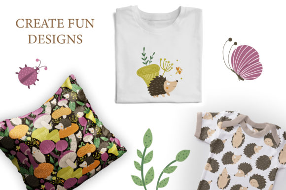 Download Free Funny Hedgehogs Graphic By Lexiclaus Creative Fabrica for Cricut Explore, Silhouette and other cutting machines.