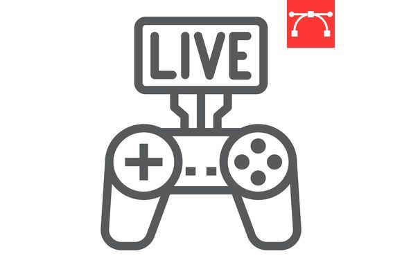 Download Free Game Streaming Graphic By Amin Yusifov Creative Fabrica for Cricut Explore, Silhouette and other cutting machines.