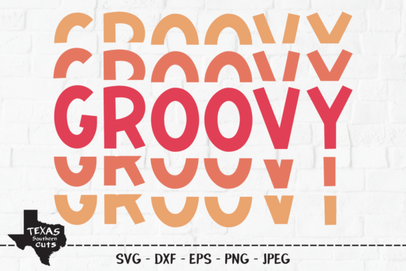 Download Free Groovy Summer Shirt Design Graphic By Texassoutherncuts for Cricut Explore, Silhouette and other cutting machines.