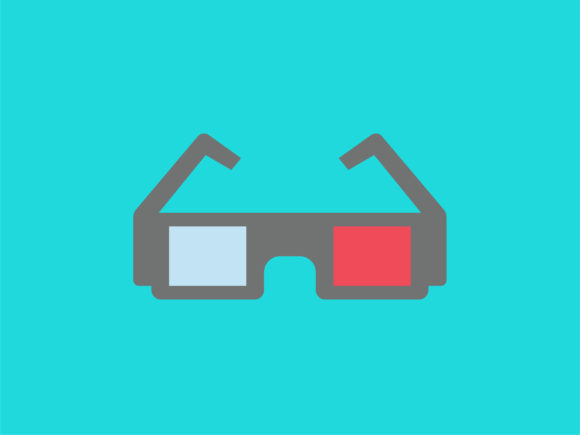 Download Free Icon 3d Glasses Movie Graphic By Meandmydate Creative Fabrica for Cricut Explore, Silhouette and other cutting machines.
