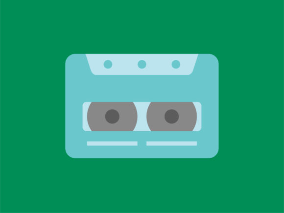 Download Free Icon Cassette Tape Full Color Graphic By Meandmydate Creative for Cricut Explore, Silhouette and other cutting machines.