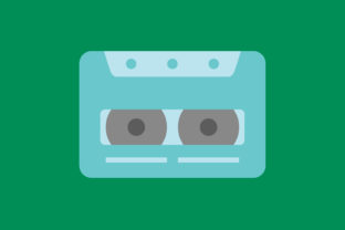 Print on Demand: Icon Cassette Tape Full Color Graphic Icons By sailingshipstudio
