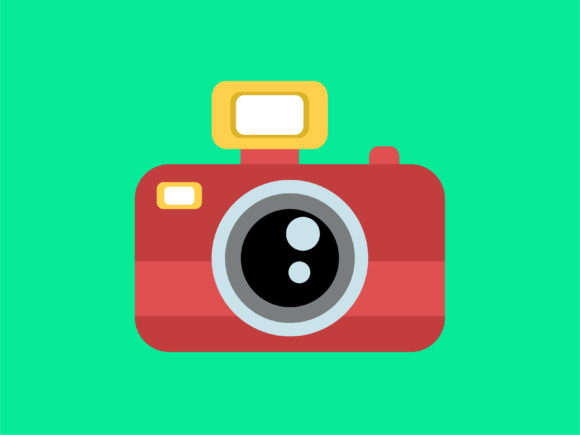 Download Free Icon Photo Camera Full Color Graphic By Meandmydate Creative for Cricut Explore, Silhouette and other cutting machines.