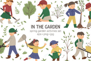 In the Garden Graphic Illustrations By lexiclaus
