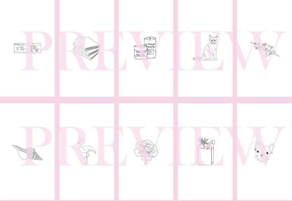 Download Free Instagram Story Highlight Icons Set Of 62 Graphic By Masters for Cricut Explore, Silhouette and other cutting machines.