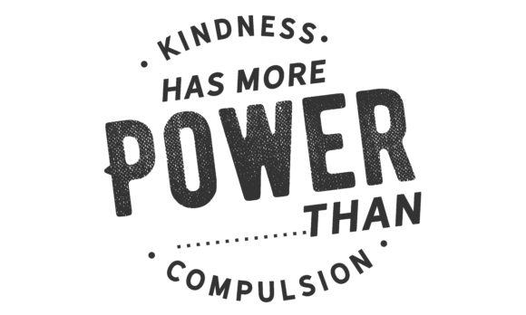 Download Free Kindness Has More Power Graphic By Baraeiji Creative Fabrica for Cricut Explore, Silhouette and other cutting machines.