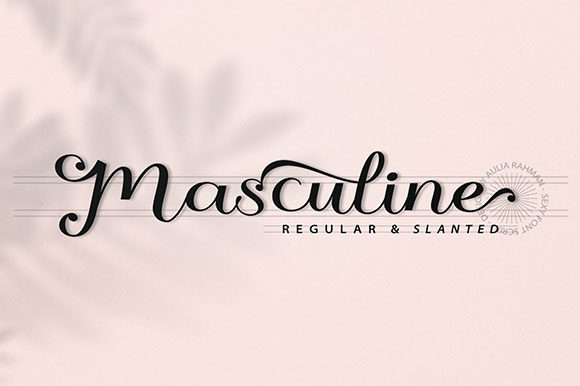 Print on Demand: Masculine Script & Handwritten Font By ShowUp! Typefoundry