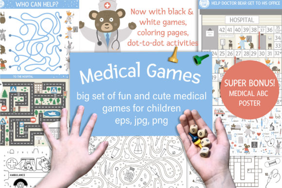 Medical Games Graphic