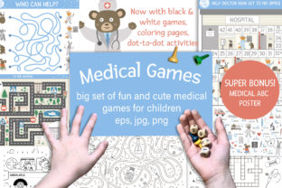 Medical Games Graphic Teaching Materials By lexiclaus