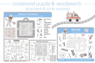 Medical Games Graphic Teaching Materials By lexiclaus 5