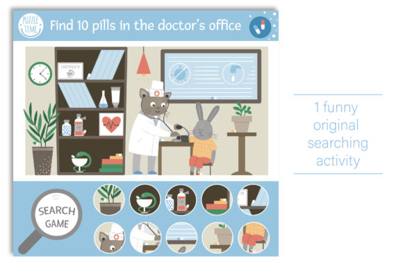 Medical Games Graphic Teaching Materials By lexiclaus - Image 7