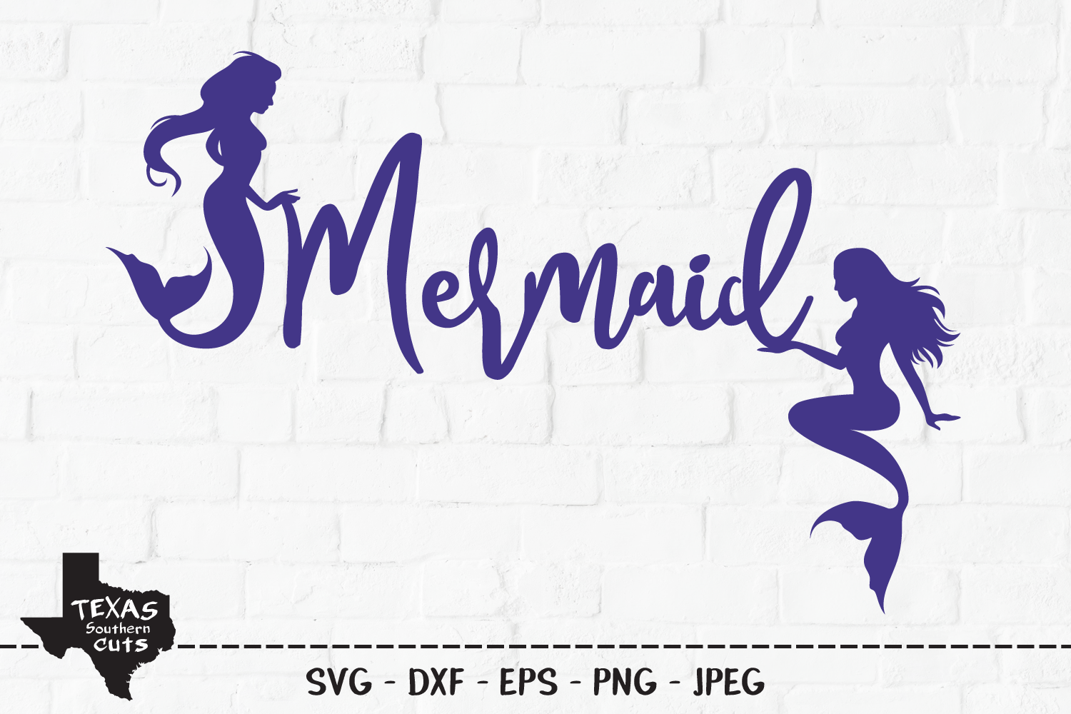 Download Free Mermaid Summer Shirt Design Graphic By Texassoutherncuts for Cricut Explore, Silhouette and other cutting machines.