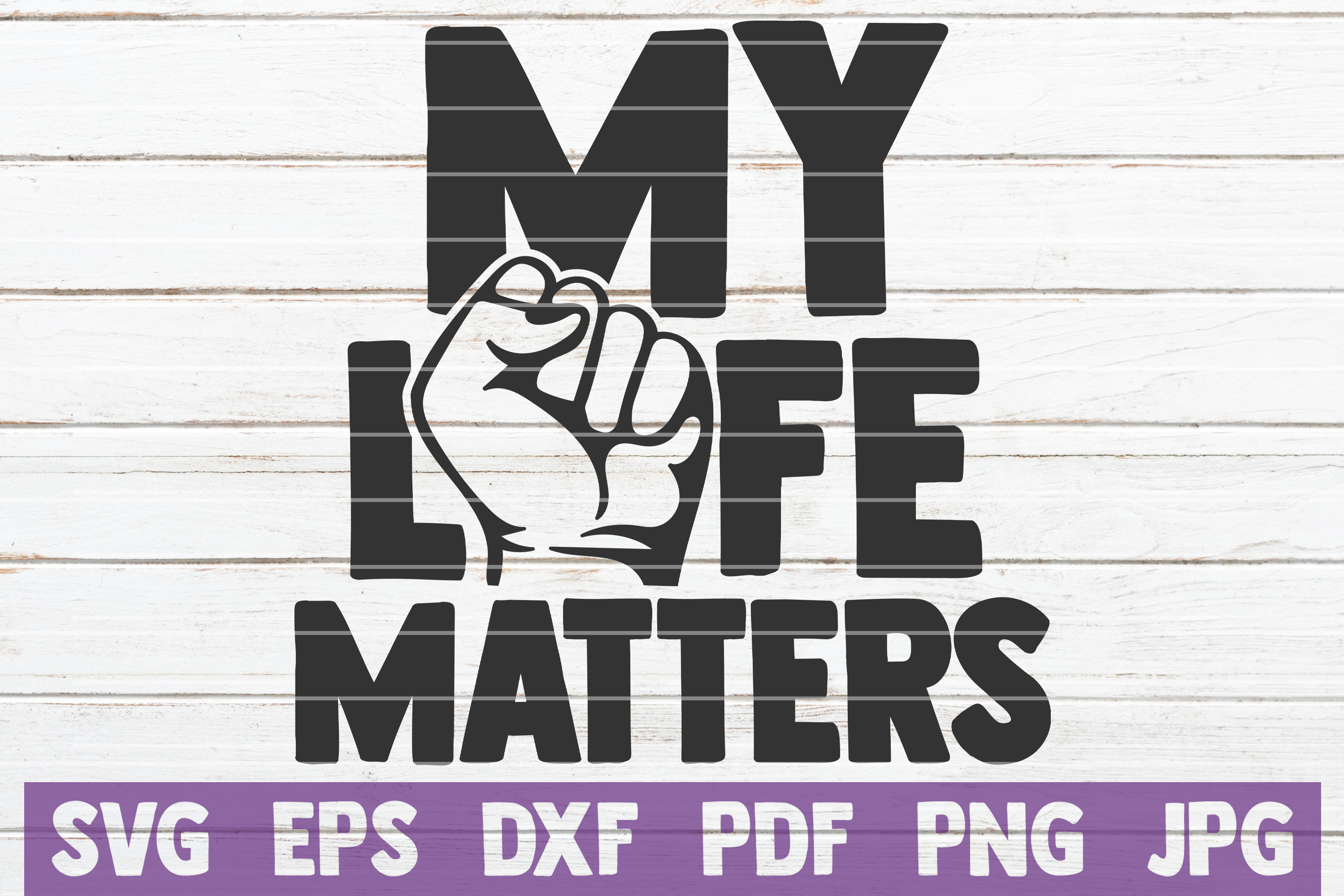 Download Free My Life Matters Graphic By Mintymarshmallows Creative Fabrica for Cricut Explore, Silhouette and other cutting machines.