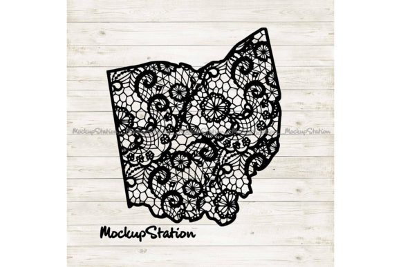 Download Free Ohio Mandala Svg Oh Floral Lace Png Graphic By Mockup Station for Cricut Explore, Silhouette and other cutting machines.