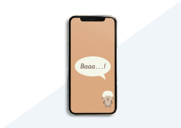 Download Free Phone Wallpaper Sheep Brown Graphic By Studioisamu Creative for Cricut Explore, Silhouette and other cutting machines.