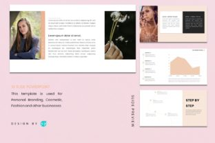 Powerpoin Template - Woman Graphic Presentation Templates By 57creative 3
