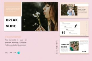 Powerpoin Template - Woman Graphic Presentation Templates By 57creative 4