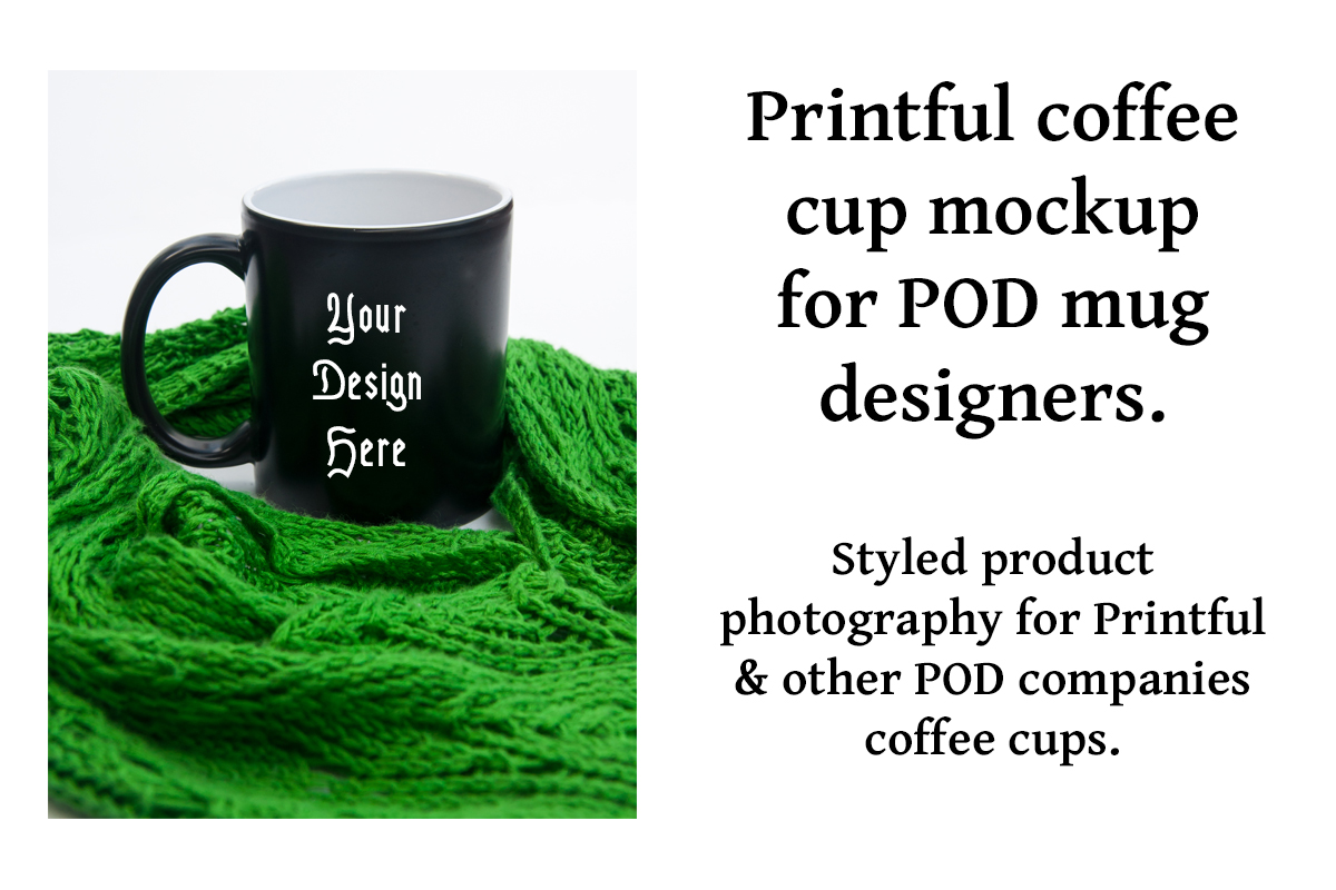 Download Free Printful Coffee Cup Mockup Graphic By A Design In Time for Cricut Explore, Silhouette and other cutting machines.