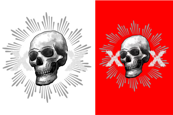 Skull 5 Graphic By Vtks Design Creative Fabrica