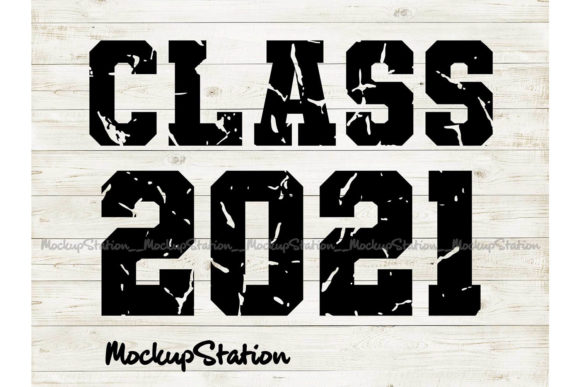 Print on Demand: Senior Class of 2021 Graphic Crafts By Mockup Station