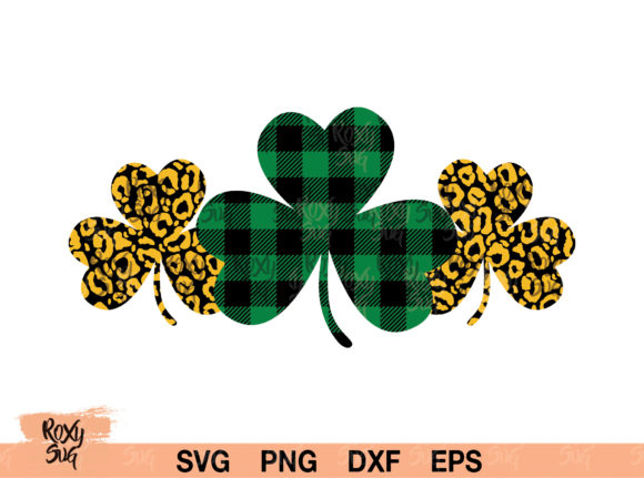 Download Free Shamrock St Patrick S Day Graphic By Roxysvg26 Creative Fabrica for Cricut Explore, Silhouette and other cutting machines.