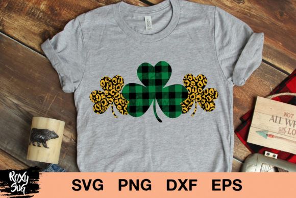 Shamrock St Patrick S Day Graphic By Roxysvg26 Creative Fabrica