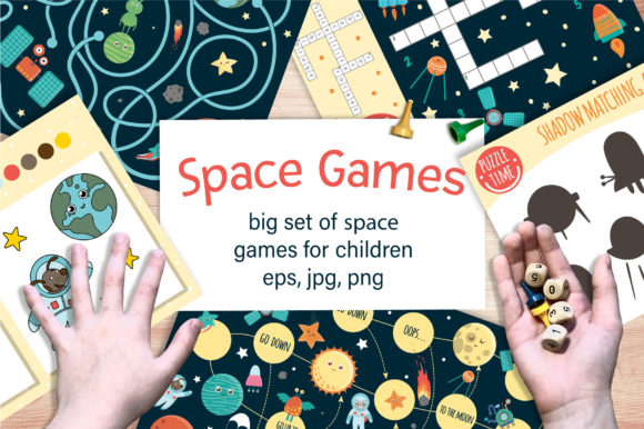 Space Games Graphic Teaching Materials By lexiclaus