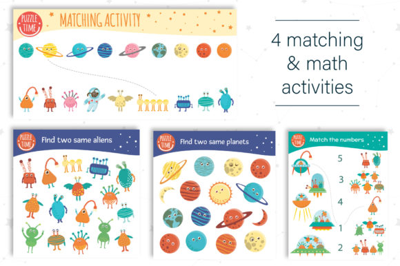 Space Games Graphic Teaching Materials By lexiclaus - Image 10