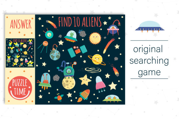 Space Games Graphic Teaching Materials By lexiclaus - Image 6