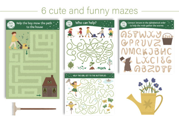 Spring Games Graphic Teaching Materials By lexiclaus - Image 2
