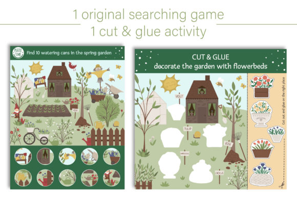 Spring Games Graphic Teaching Materials By lexiclaus - Image 6