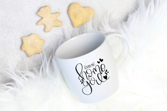 Download Free Stay At Home Girl Cut File Printable Graphic By Meiimi Creative Fabrica for Cricut Explore, Silhouette and other cutting machines.