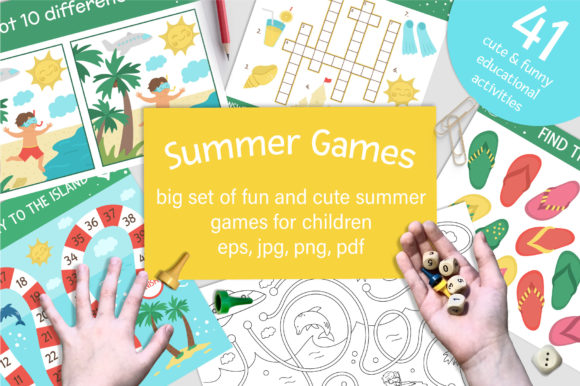Summer Games Graphic Teaching Materials By lexiclaus