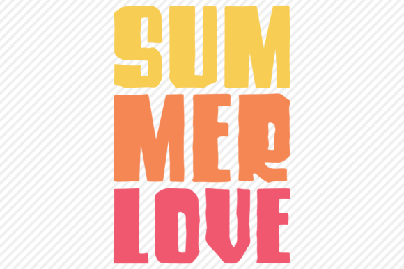Download Free Summer Love Shirt Design Graphic By Texassoutherncuts Creative for Cricut Explore, Silhouette and other cutting machines.