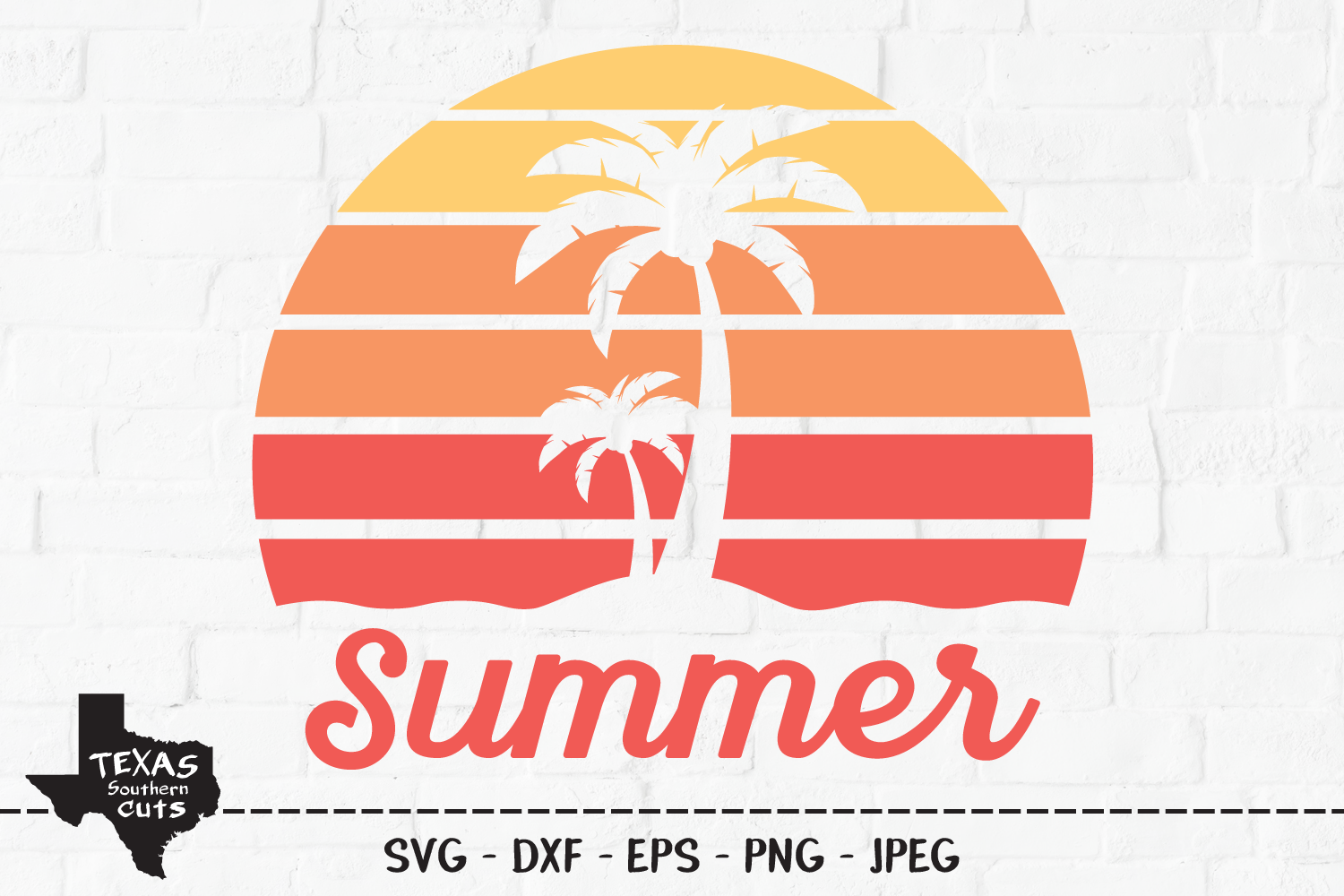 Download Free Summer Shirt Design Graphic By Texassoutherncuts Creative Fabrica for Cricut Explore, Silhouette and other cutting machines.