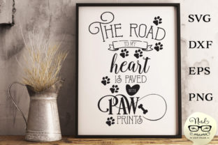 Download Free The Road To My Heart Cut File Graphic By Nerd Mama Cut Files for Cricut Explore, Silhouette and other cutting machines.