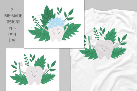 Download Free Tooth Fairy Collection Graphic By Lexiclaus Creative Fabrica for Cricut Explore, Silhouette and other cutting machines.