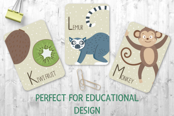 Tropical ABC Graphic Teaching Materials By lexiclaus - Image 5