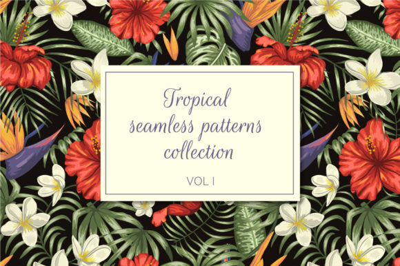 Tropical Patterns Vol I Graphic Patterns By lexiclaus