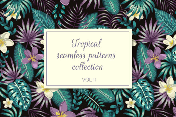 Tropical Patterns Vol II Graphic Patterns By lexiclaus