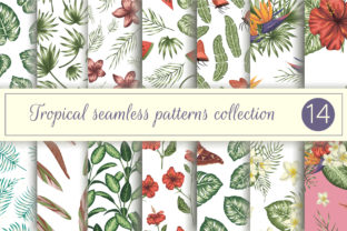 Tropical Patterns Vol III Graphic Patterns By lexiclaus